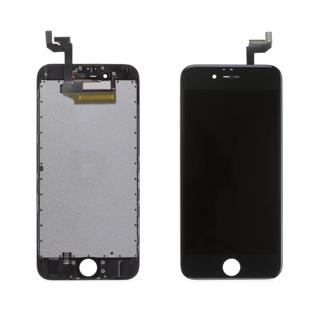 Apple iPhone 6S Plus LCD displej černý dotykové sklo komplet přední panel