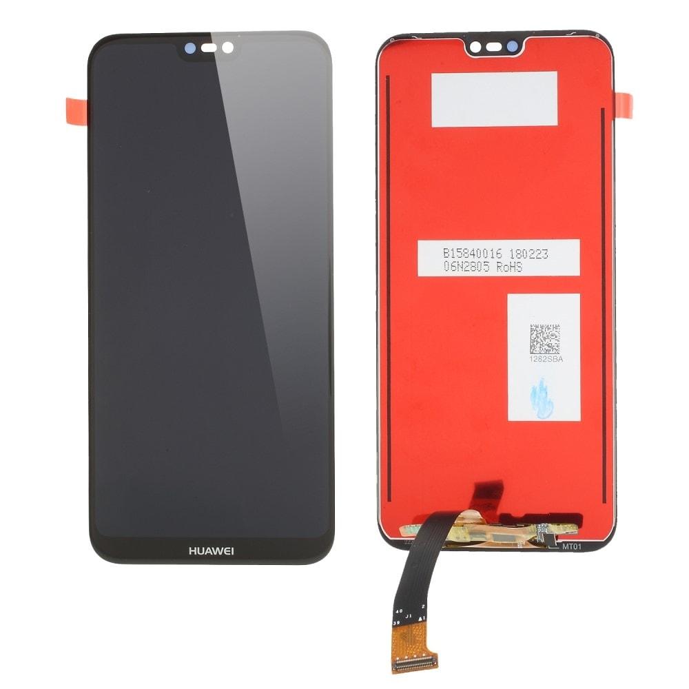 Huawei P20 lite LCD displej dotykové sklo černé