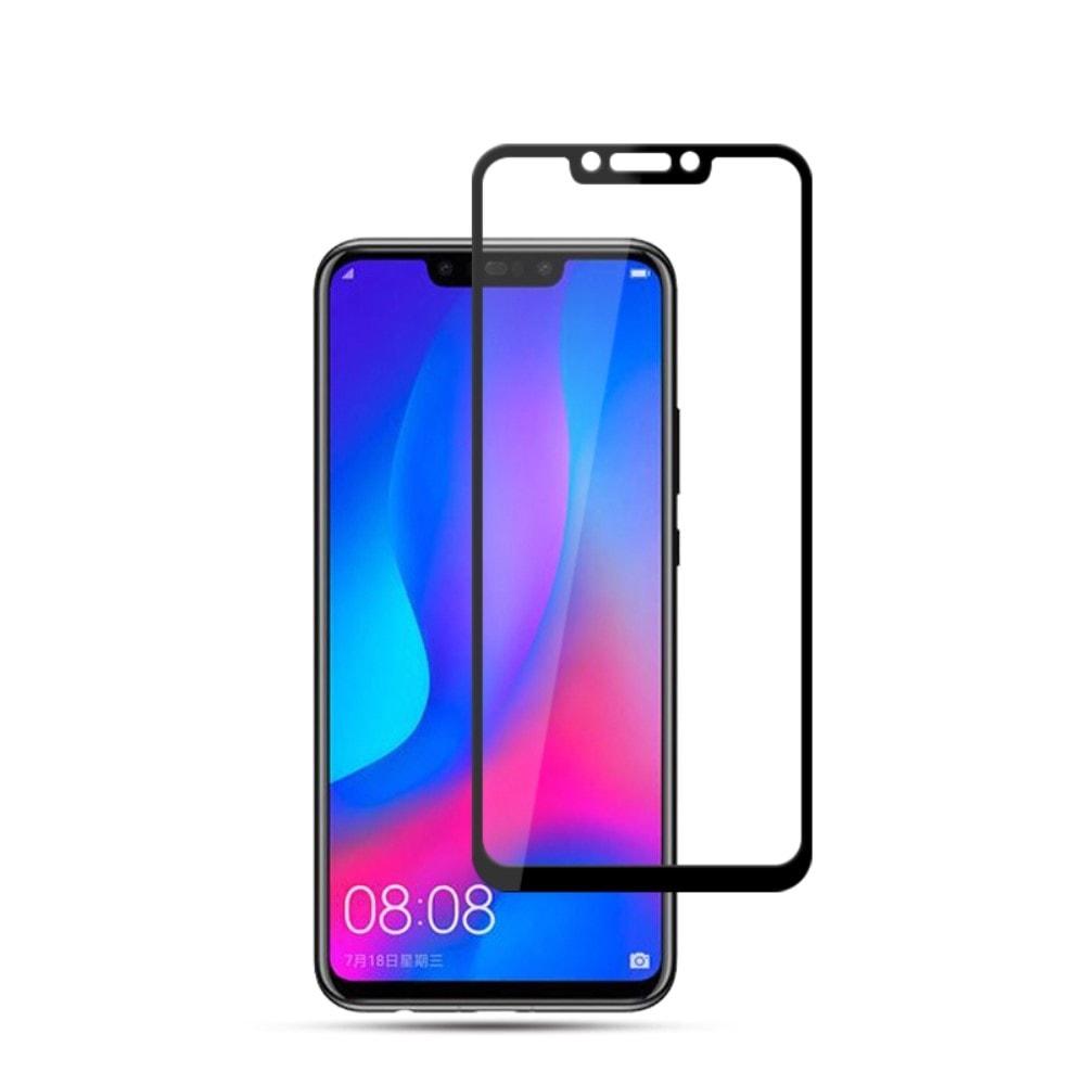 Huawei Nova 3 Ochranné tvrzené sklo černé