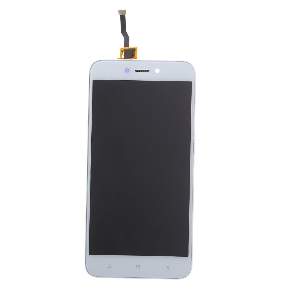 Xiaomi Redmi 5A LCD displej dotykové sklo bílé komplet přední panel včetně rámečku