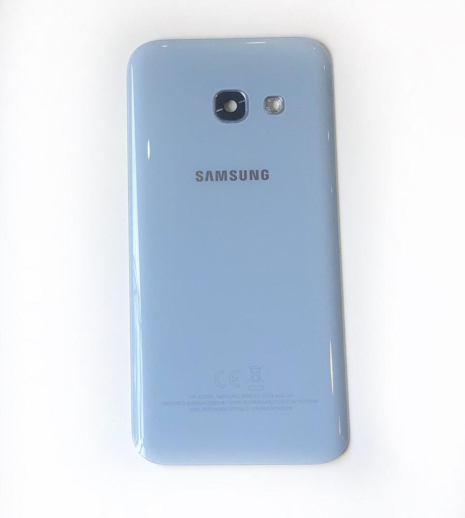 Samsung Galaxy A3 2017 zadní kryt baterie originální A320F modrý použitý