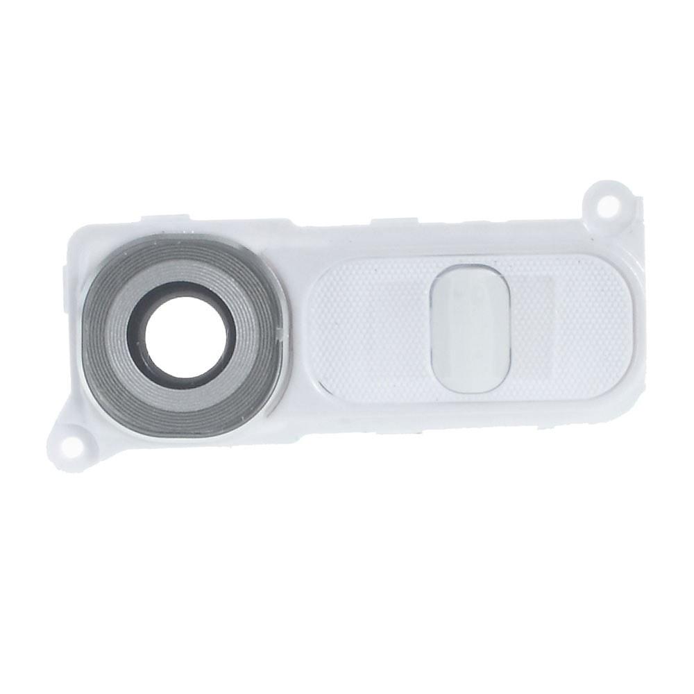 LG G4 Krytka modulu fotoaparátu včetně krytu tlačítek H815 bílá