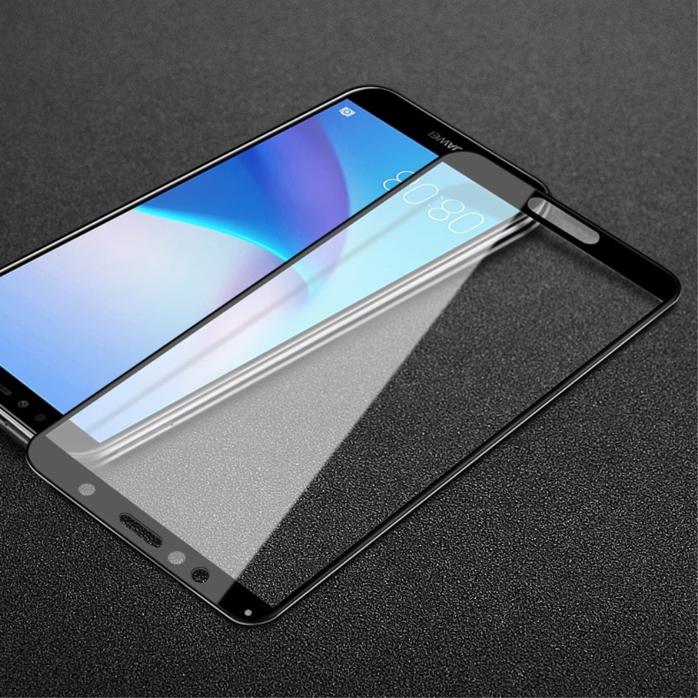 Honor 7A / Y6 Prime 2018 Ochranné tvrzené sklo černé