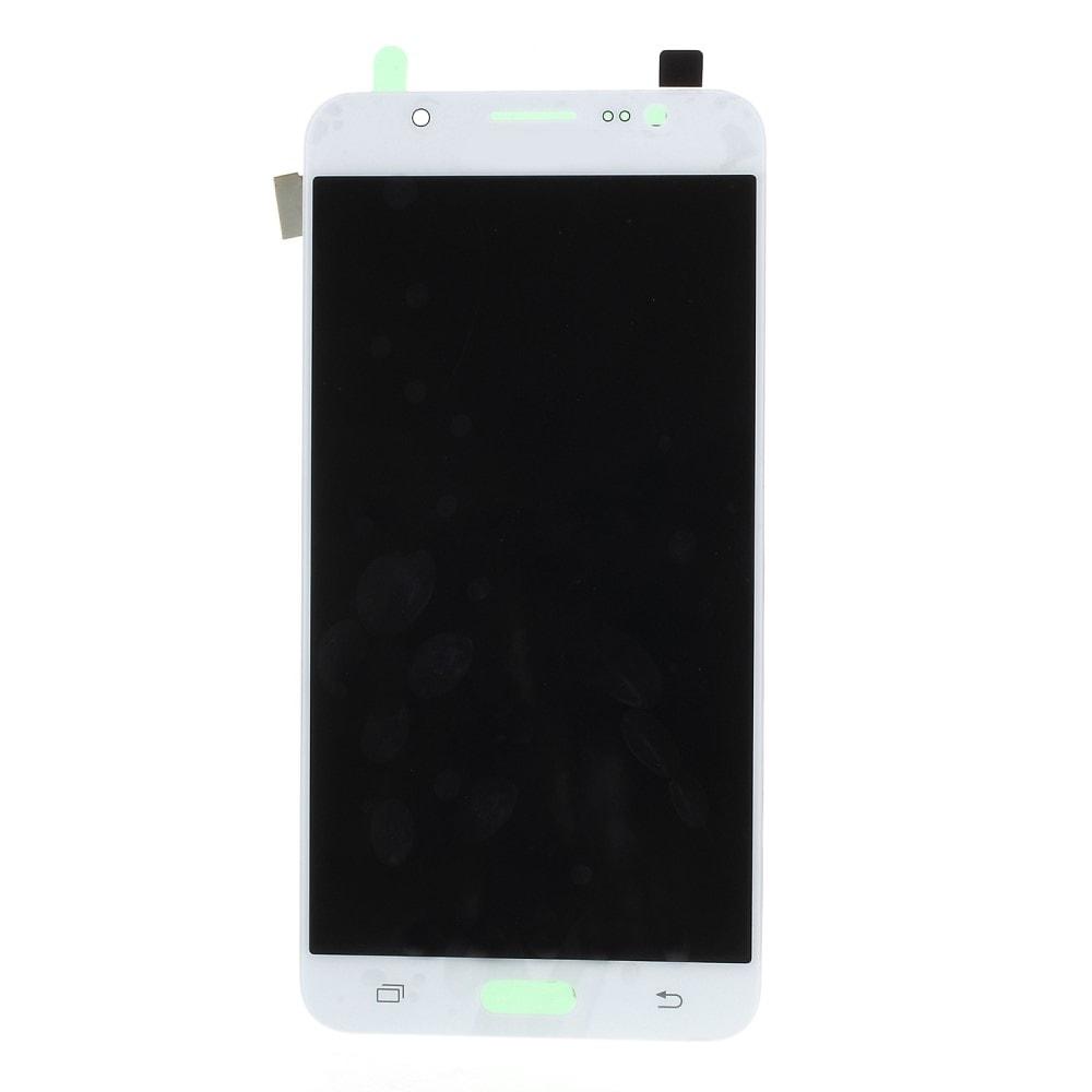 Samsung Galaxy J7 2016 LCD displej dotykové sklo komplet přední TFT panel J710 bílý