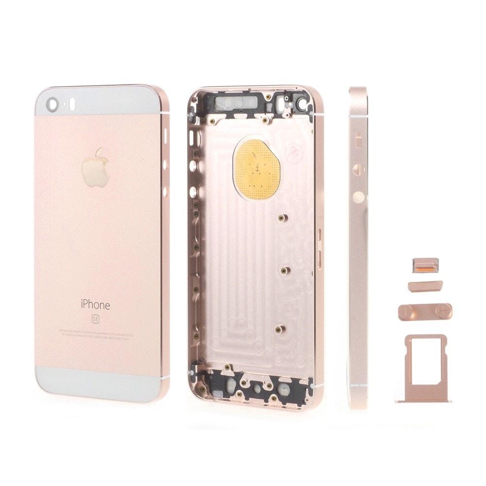 Apple iPhone SE zadní kryt baterie růžový rose gold