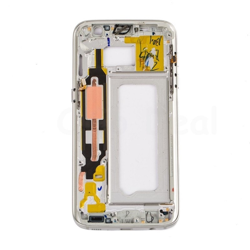 Samsung Galaxy S7 středový rámeček střední kryt stříbrný G930F