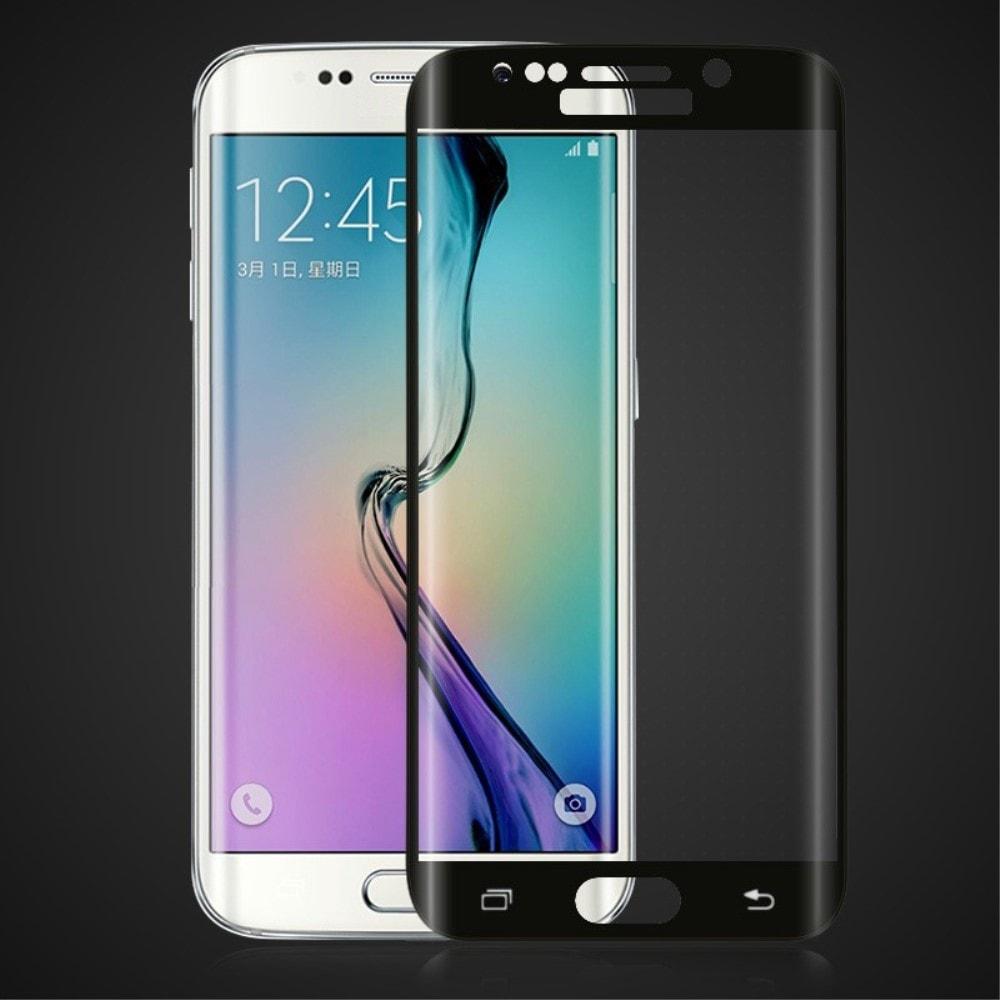 Samsung Galaxy S6 Edge Plus + Ocrhanné tvrzené sklo 3D černé G928F