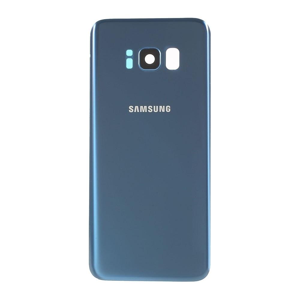 Samsung Galaxy S8 zadní kryt baterie osazený včetně krytky čočky fotoaparátu modrý G950F
