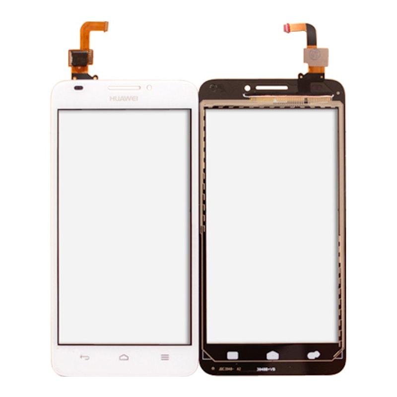 Huawei Ascend G620 dotykové sklo bílé