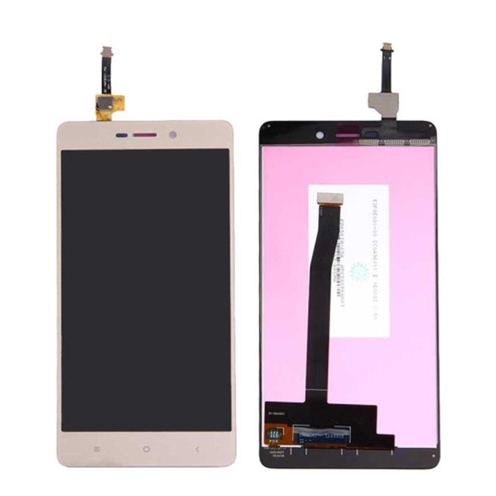 Xiaomi Redmi 3 / 3S LCD displej zlatý + dotykové sklo komplet