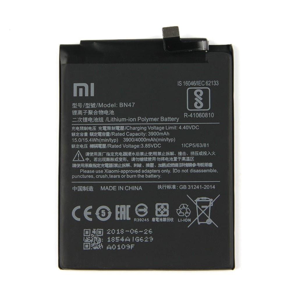 Xiaomi Mi A2 Lite Baterie / Redmi 6 Pro BN47 3900mAh