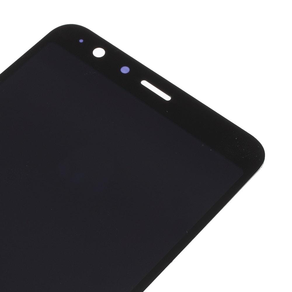 Asus ZenFone Max Plus LCD displej dotykové sklo komplet přední panel černý (M1) ZB570TL