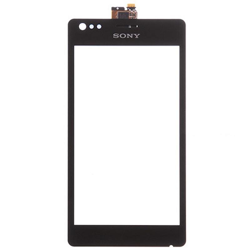 Sony Xperia M dotykové sklo černé C1905