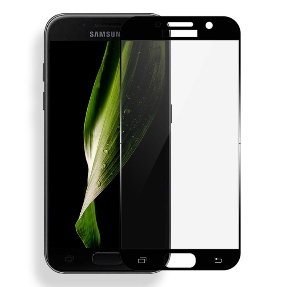 Samsung Galaxy A3 2017 Ochranné tvrzené sklo černé MOCOLO