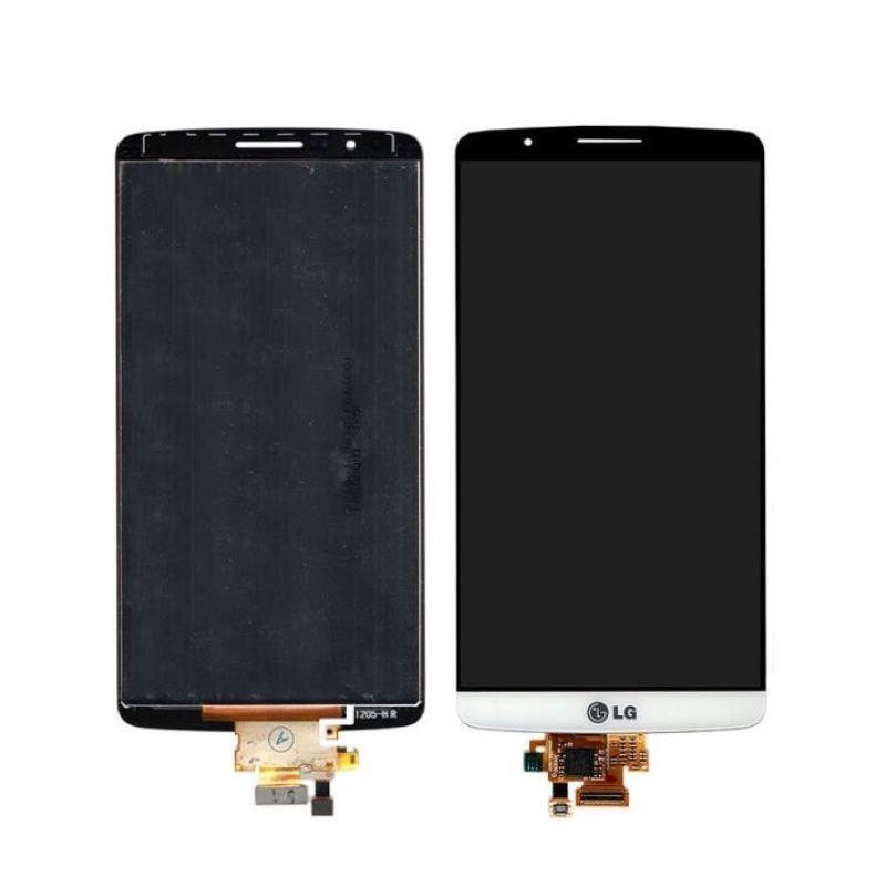 LG G3 LCD displej bílý + dotykové sklo komplet D855 D850