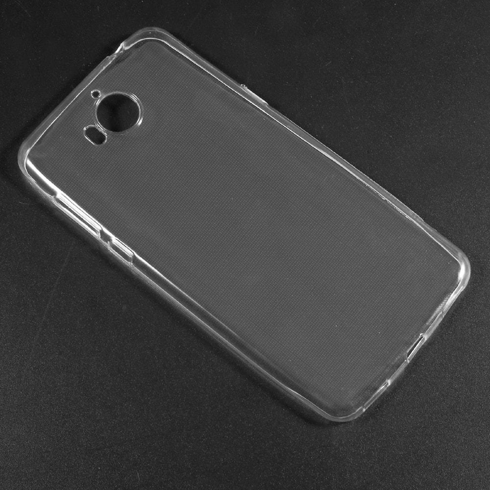 Huawei Y6 2017 ochranný kryt pouzdro transparentní obal