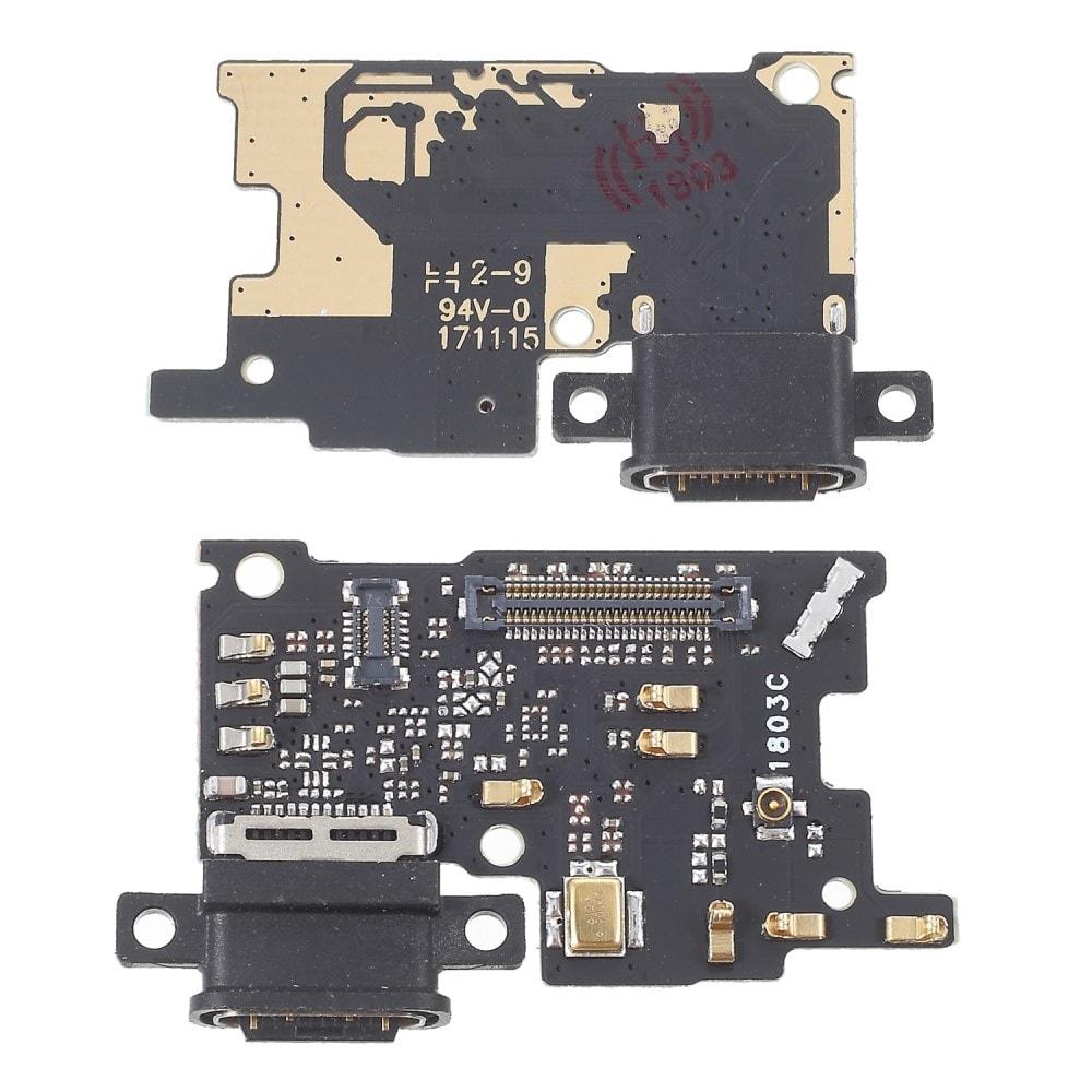 Xiaomi Mi 6 napájecí usb port konektor nabíjení mikrofon