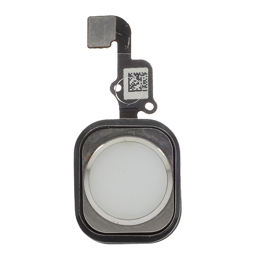Apple iPhone 6S / 6S Plus home button tlačítko flex touch ID stříbrné silver