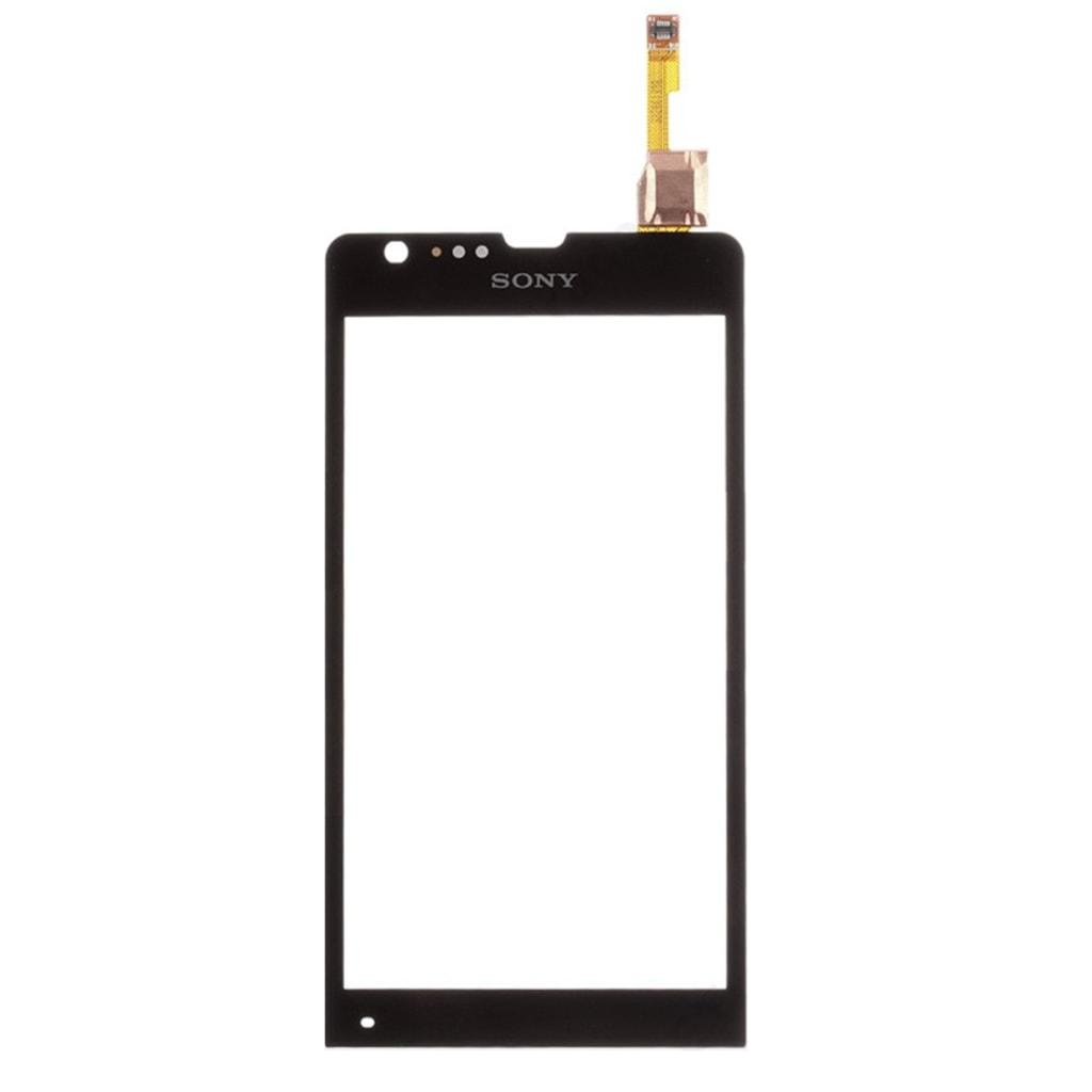 Sony Xperia SP dotykové sklo černé C5303