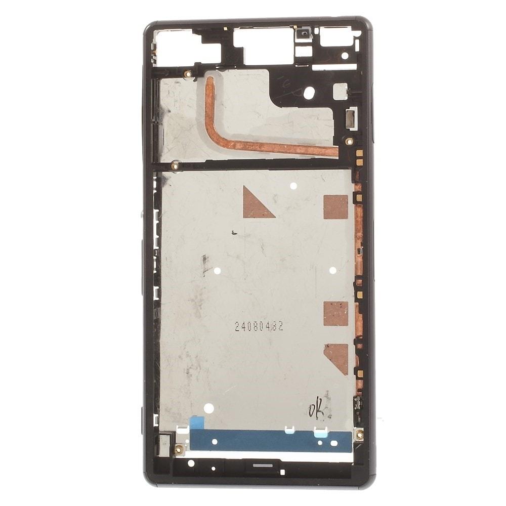 Sony Xperia Z3 střední kryt rámeček LCD displeje D6603 stříbrný