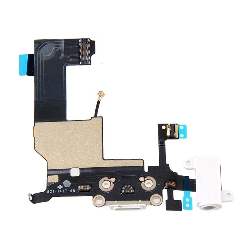 Apple iPhone 5 dock konektor nabíjení mikrofon anténa bílý