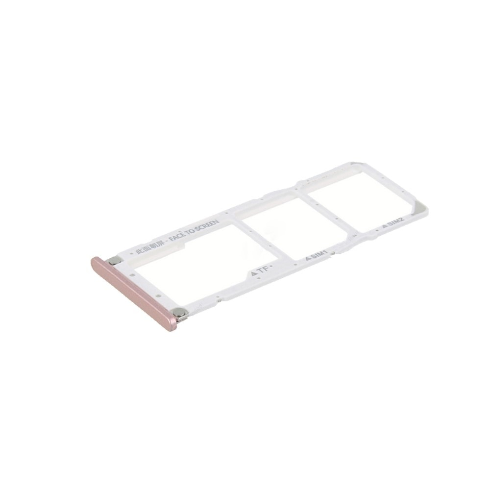 Xiaomi Mi A2 Lite / Redmi 6 PRO SIM šuplík SD karta růžový rose gold