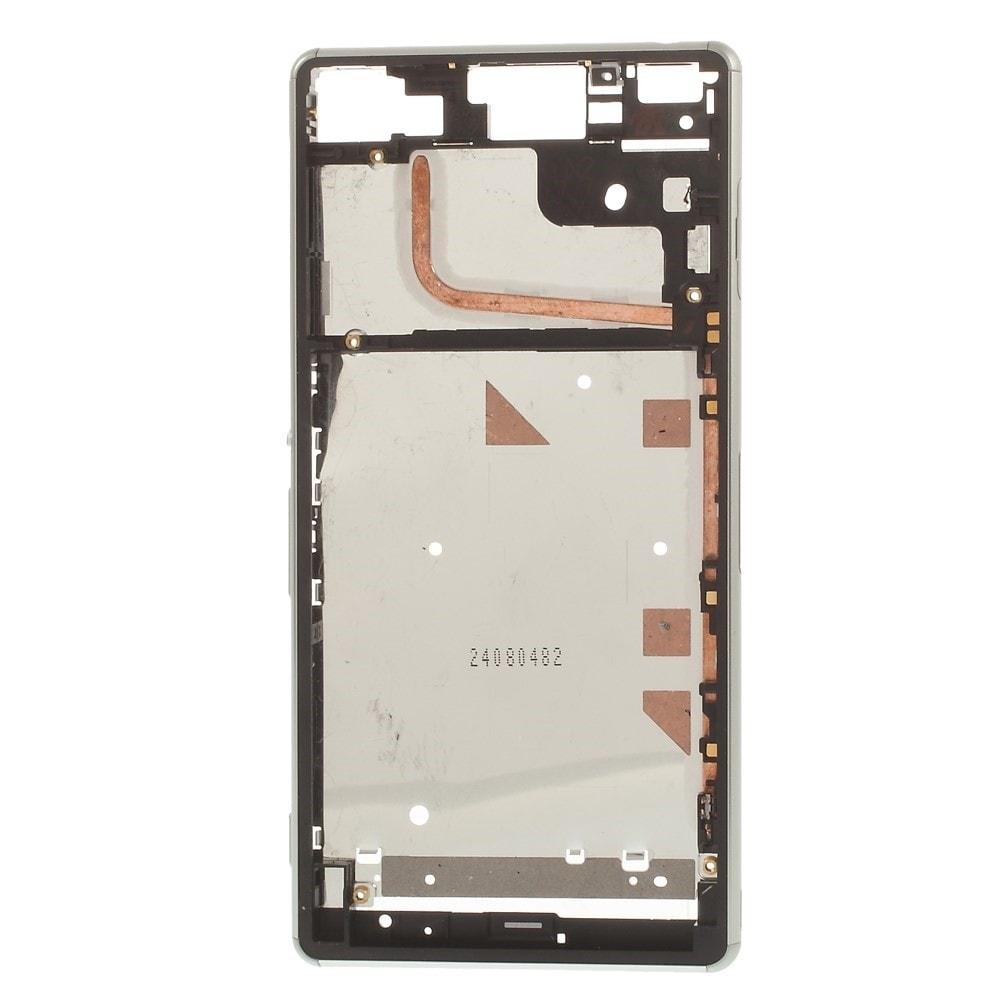 Sony Xperia Z3 střední kryt rámeček LCD displeje D6603 tmavě šedý