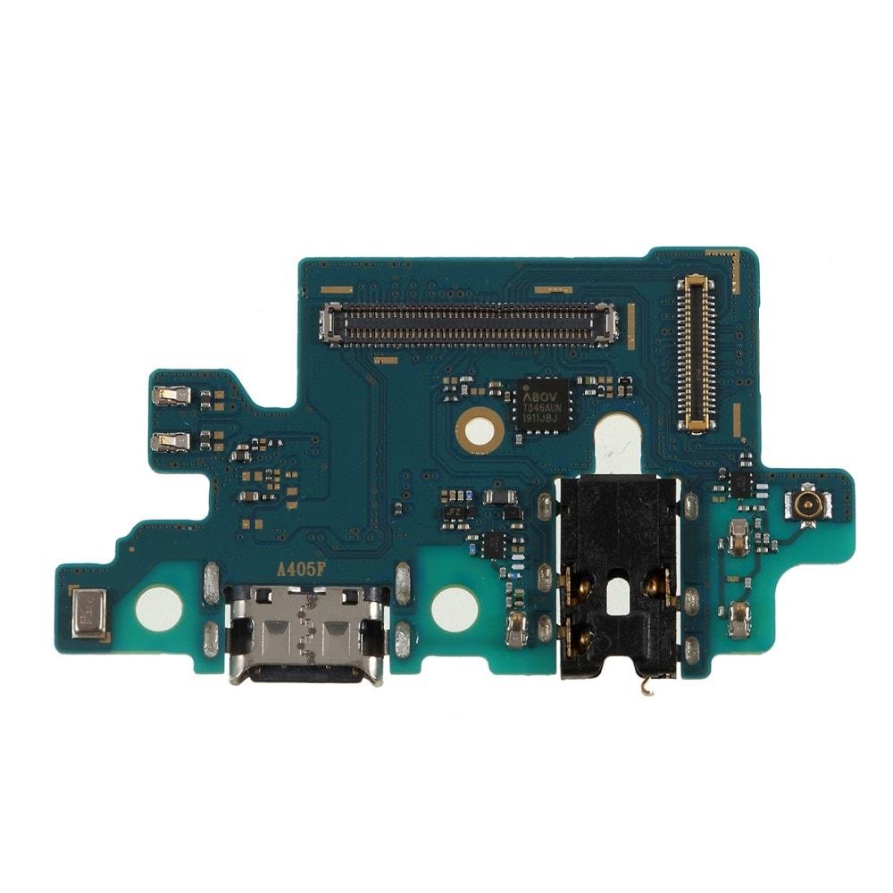 Samsung Galaxy A40 nabíjecí usb konektor audio mikrofon A405