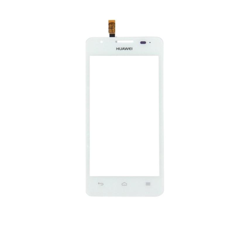 Huawei Ascend G510 dotykové sklo bílé G520