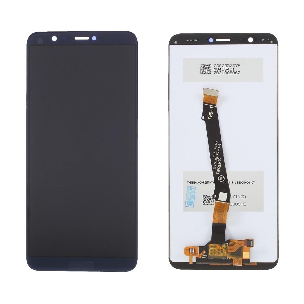 Huawei P smart LCD displej dotykové sklo modré komplet přední panel