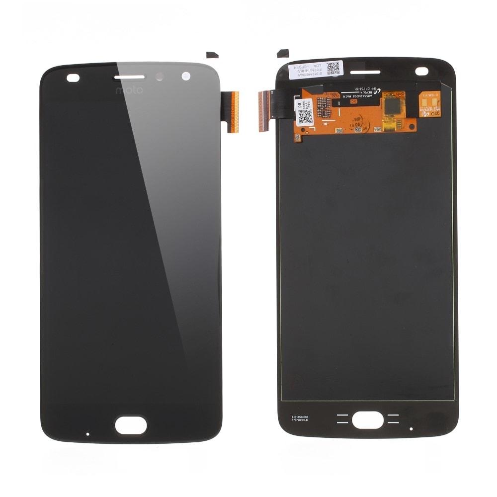 Motorola Moto Z2 Play LCD amoled displej komplet dotykové sklo přední panel černý