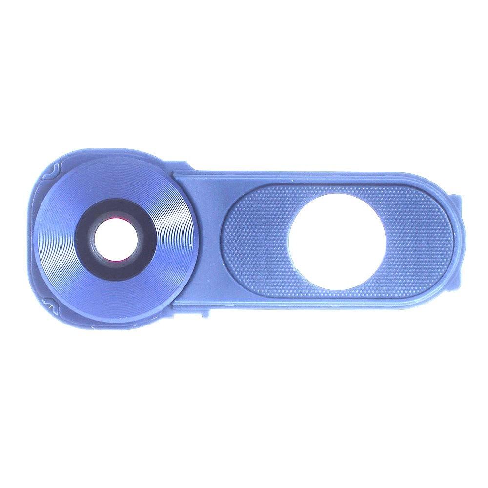 LG V10 krytka čočky fotoaprátu světle modrá