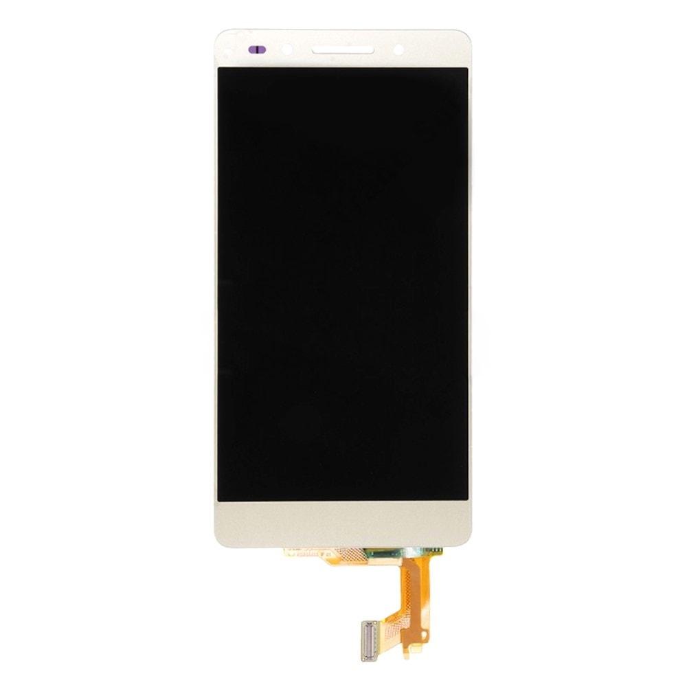 Honor 7 LCD displej zlatý dotykové sklo komplet