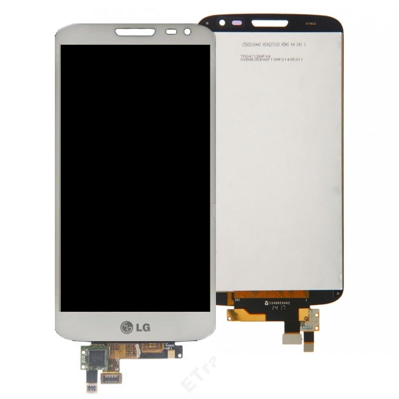 LG G2 mini LCD displej bílý + dotykové sklo komplet D620