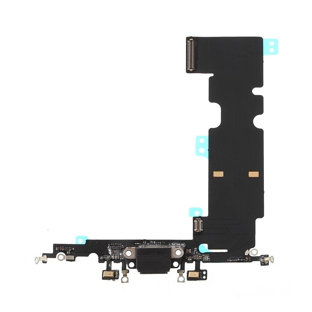 Apple iPhone 8 Plus dock konektor nabíjení napájecí flex lightning port sluchátka černý
