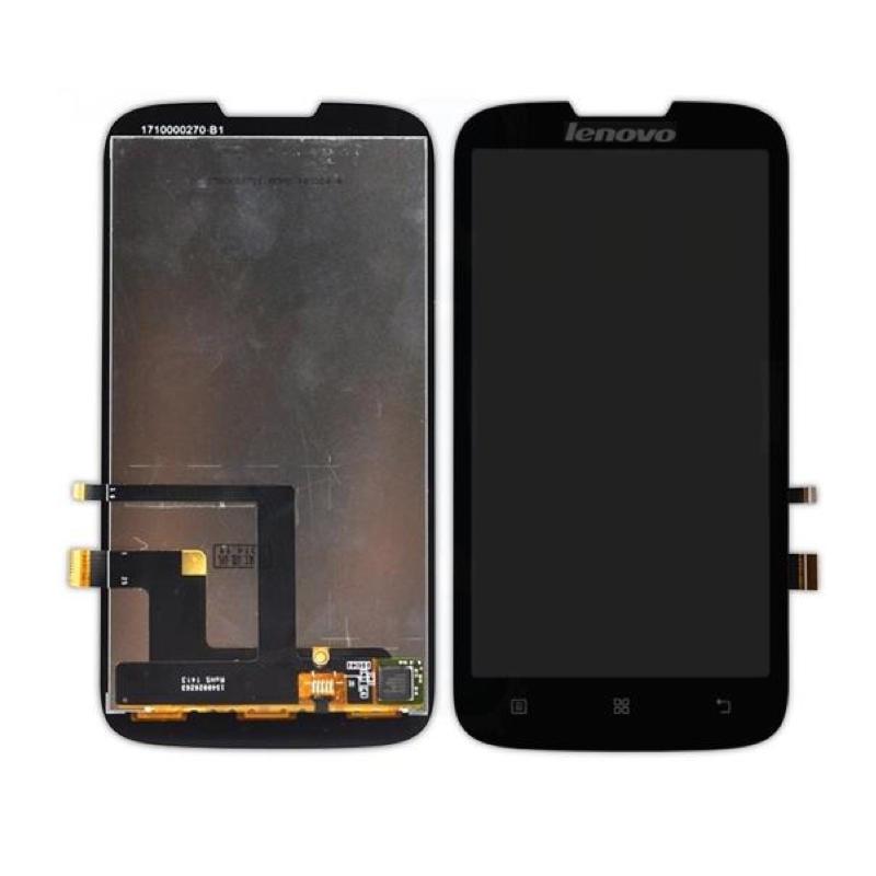 Lenovo A560 LCD displej černý + dotykové sklo komplet