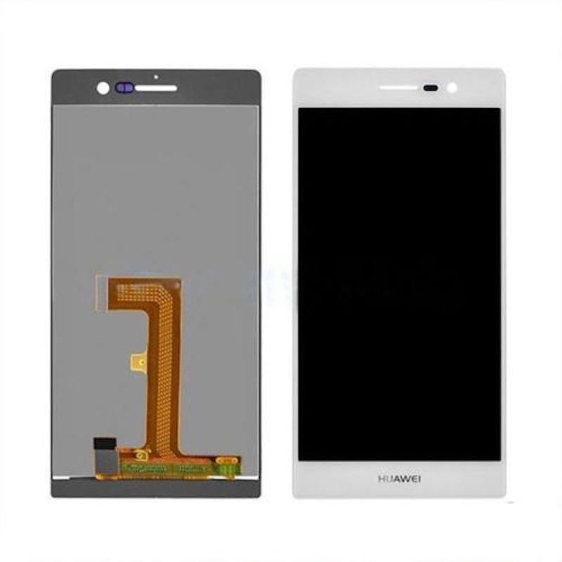 Huawei P7 LCD displej bílý + dotykové sklo komplet