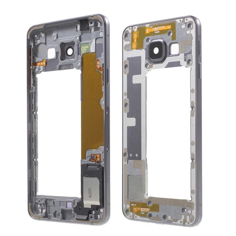 Samsung Galaxy A3 2016 střední rámeček kryt černý A310F