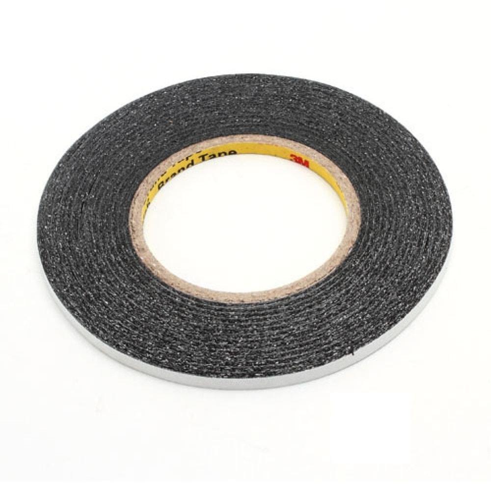 Oboustranná lepící páska 3M černá 50m x 6mm kotouč