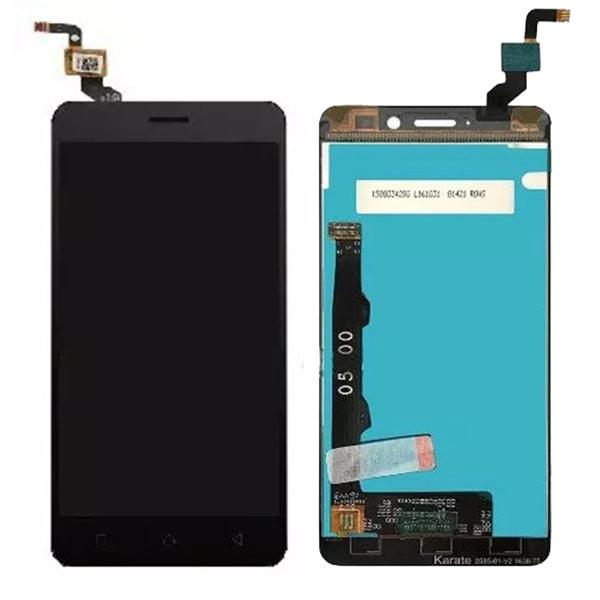 Lenovo K6 LCD displej dotykové sklo černé