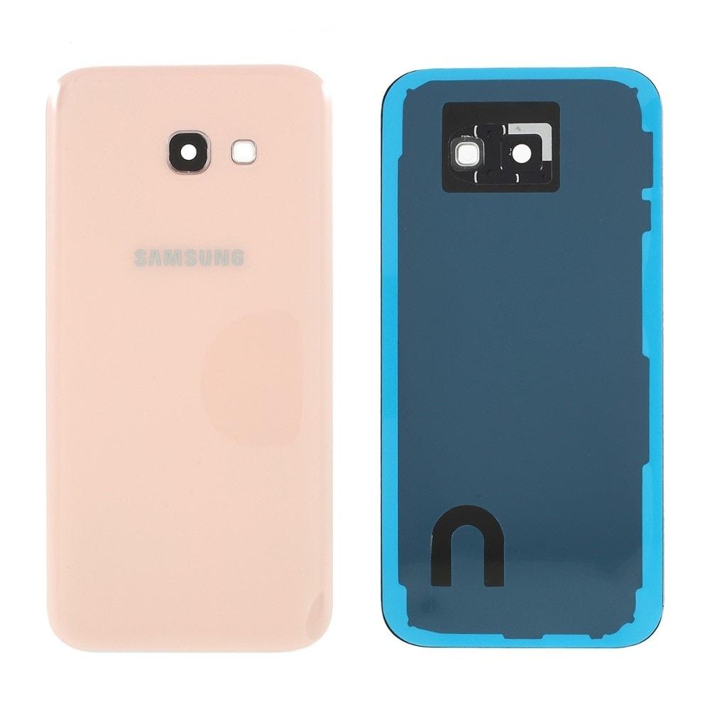 Samsung Galaxy A5 2017 zadní kryt baterie růžový osázený včetně krytky fotoaparátu A520F