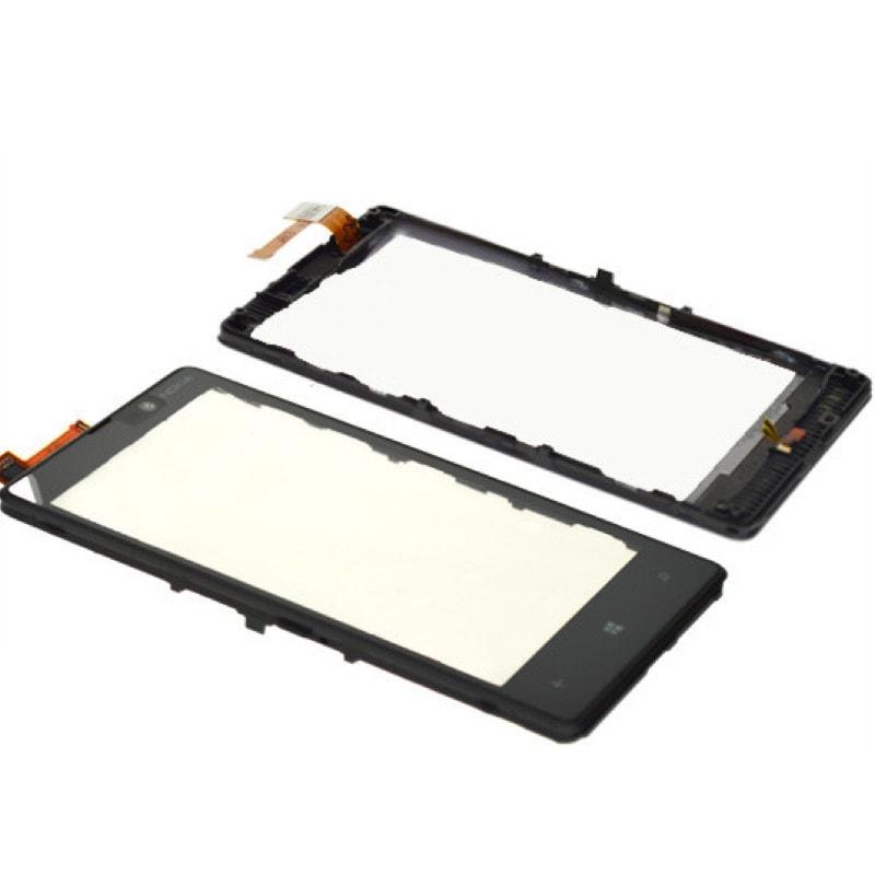 Nokia Lumia 820 dotykové sklo rámeček