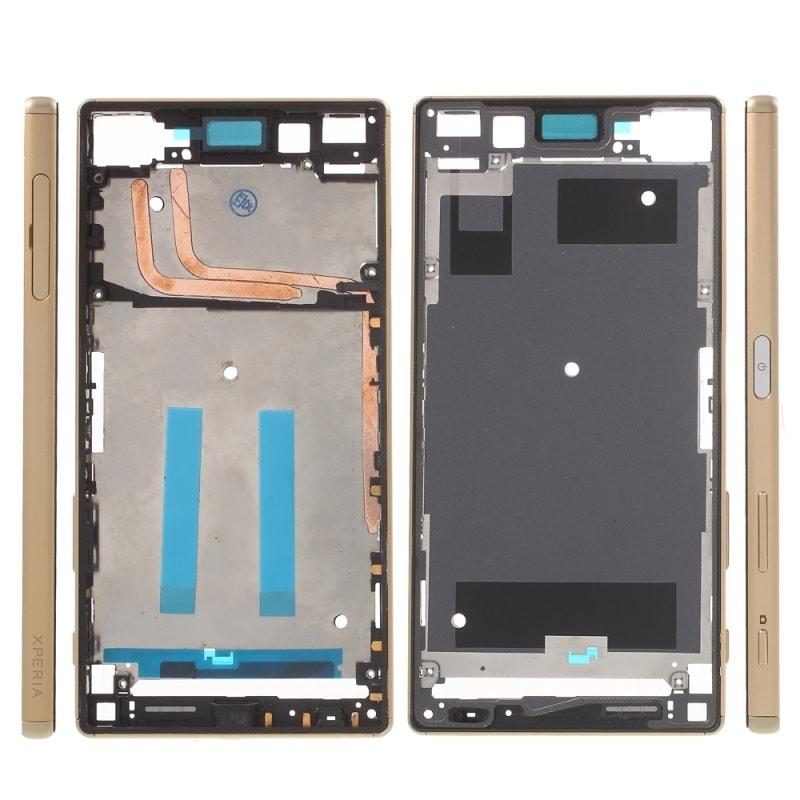 Sony Xperia Z5 střední rámeček LCD zlatý E6653