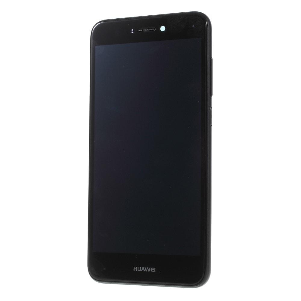 Huawei P9 Lite 2017 / Honor 8 Lite LCD displej dotykové sklo komplet přední panel včetně rámečku černý