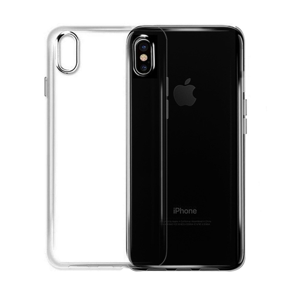 Apple iPhone X / XS transparentní ochranný obal X-Fitted