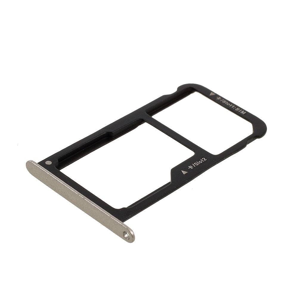 Huawei P9 Lite šuplík na SIM tray SD karta Zlatá - Gold