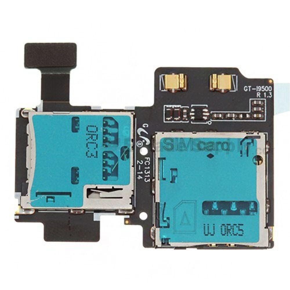 Samsung Galaxy S4 SIV čtečka Sim a SD karty flex i9505