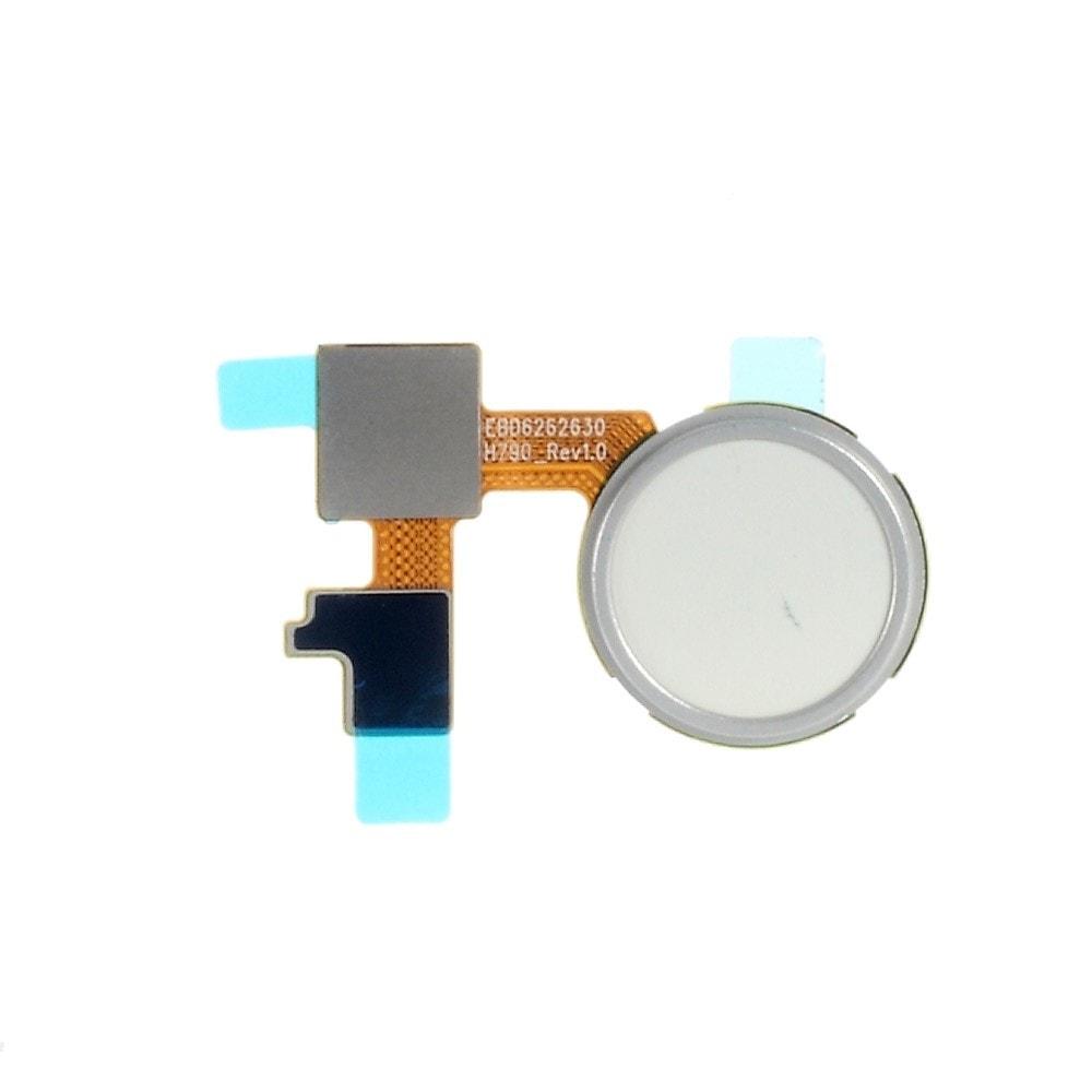 LG Nexus 5X Otisk prstu home button domovské tlačítko flex H790 bílé