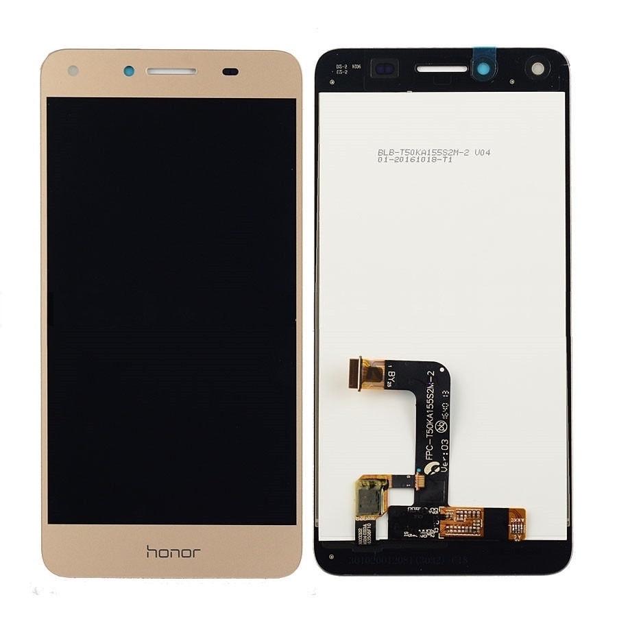 Huawei Y5 II / Honor 5 Play LCD displej dotykové sklo komplet zlatý
