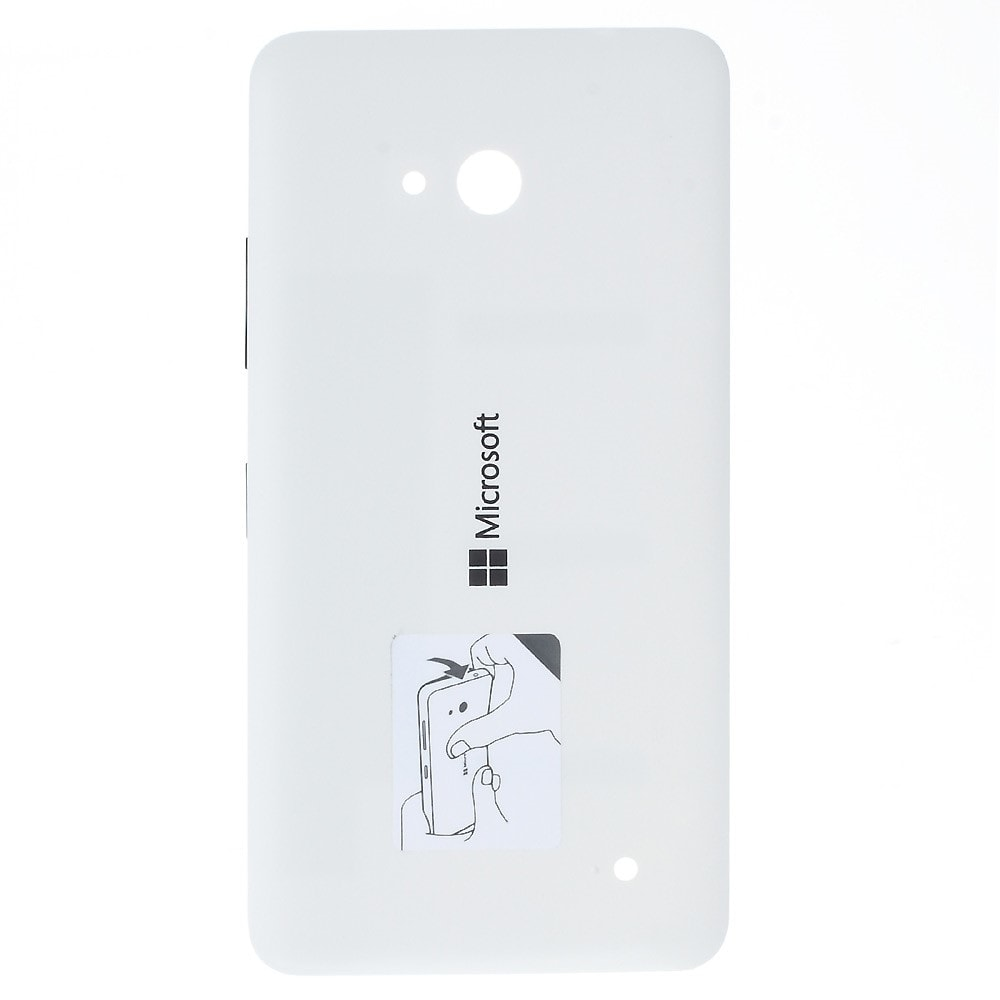 Microsoft Lumia 640 Dual sim LTE zadní kryt baterie bílý